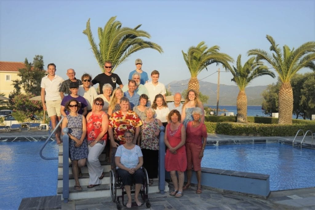 Holidyain in Samos as a wheelchair user