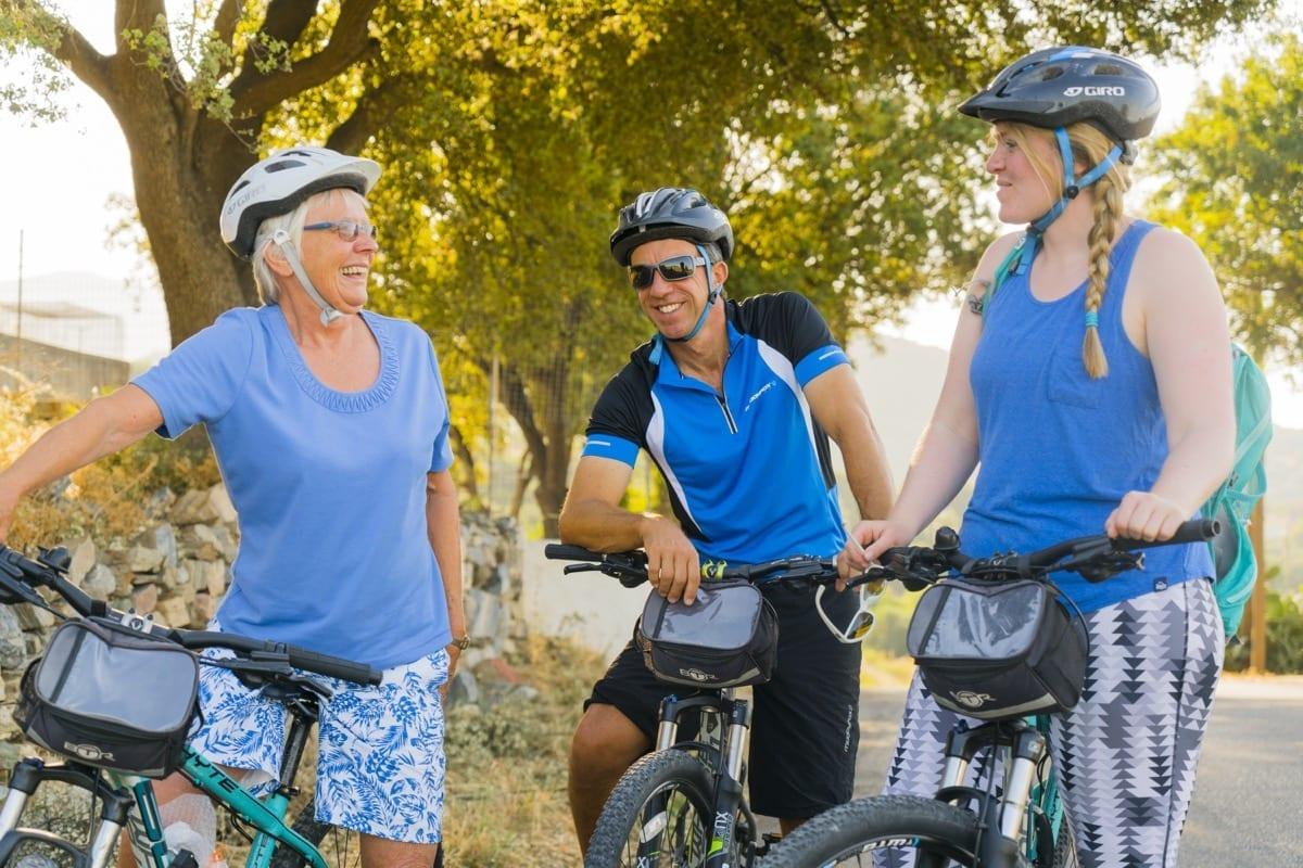 Biking in Samos