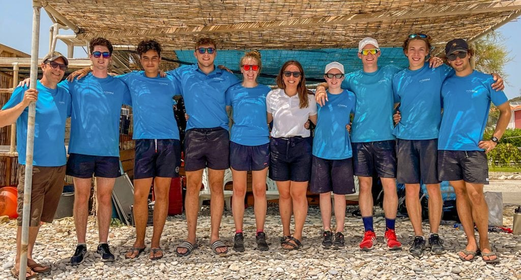 Samos 2021 Team on the Waterfront