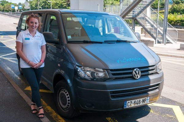 Richmond Transfer Van at Geneva Airport